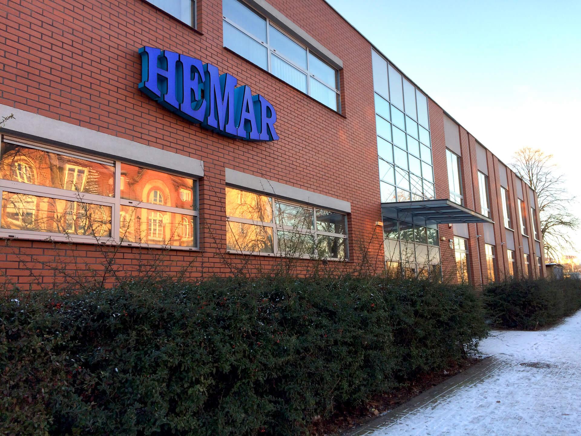 Siedziba firmy Hemar - Berdowski i Konsik Spółka Jawna , ul. Waryńskiego 28, Gorzów Wlkp.
